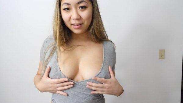 Cum On My Tits JOI – Ashley Aoki