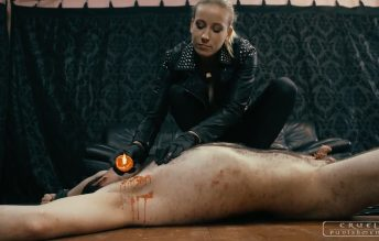 CRUEL PUNISHMENTS - SEVERE FEMDOM - Mistress Anette - Anette is brutal in every way Part 3