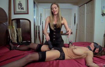 Leathered Lesbian Domination - Captive Chrissy Marie