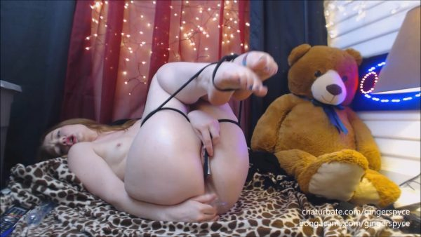 Anal Domination Hour Live pt 1 – Gingerspyce
