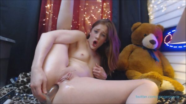 Anal Domination Hour Live pt 2 – Gingerspyce