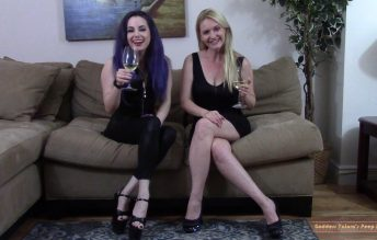 Were Getting Better Dick, But Were Keeping Your Money - Goddess Valora and Lisa Harlotte