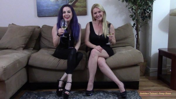 Were Getting Better Dick, But Were Keeping Your Money – Goddess Valora and Lisa Harlotte