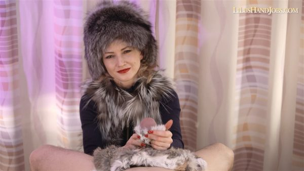 Fur HandJob with a Rabbit Fur – MP4 HD – I JERK OFF 100 Strangers hommme HJ