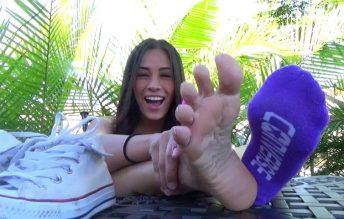 Dirty Allstar Foot Worship - Jamie Valentine