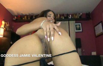 Goddess Ass Worship - Jamie Valentine