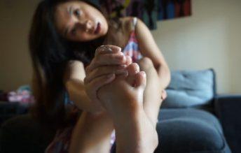 Asian Goddess Foot Worship - Kaedia Lang
