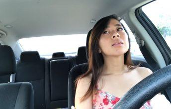Car Cum Fail - Kaedia Lang