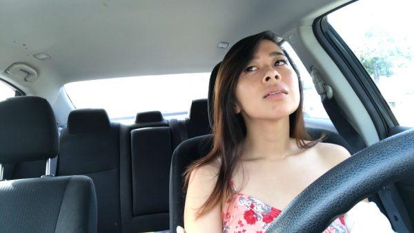 Car Cum Fail – Kaedia Lang