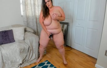 Custom BBW Standing Nude Masturbation - Kates Kurves
