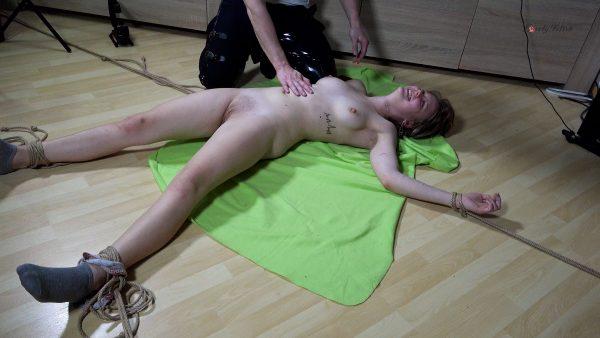 Clip 128SK-a Radial Bondage And Tickling – Lovely Fetish Spanking Bondage More