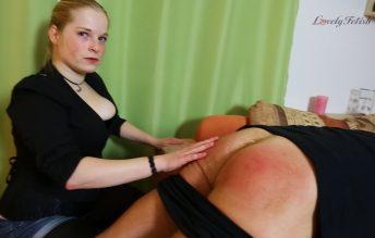 Clip 41Lil Lili Got A Naughty Boy - Part 1 - Lovely Fetish Spanking Bondage More