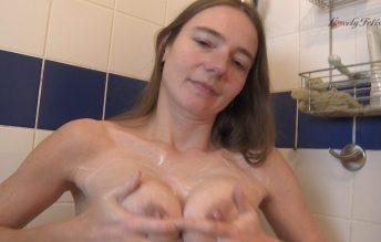 Clip 52Ka - Karina's Shower - Lovely Fetish Spanking Bondage More