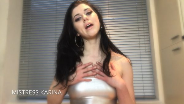 Shiny Silver Seductress JOI – Mistress Karina