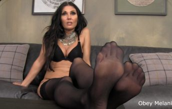 Just you me and that chastity belt you have for a dick - Obey Melanie