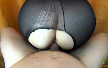 Big Creampie For Mom With Perfect Ass In Torn Pantyhose - Sany Any
