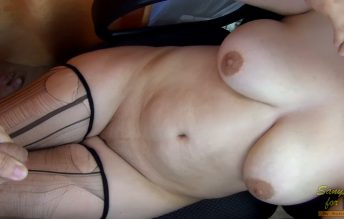 Fantasy Subscriber Torn Stockings A Small Striptease From - Sany Any