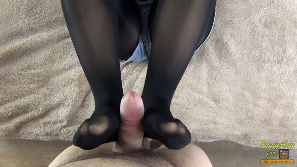 He Fucked Me Without Taking Off My Shorts And A Lot Nylon Footjob – Sany Any