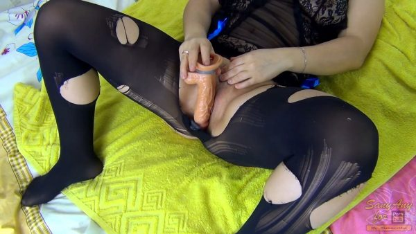 Nimpho Sexually Torn Tights Fuck Toy And Gets Big Load Cum On Legs – Sany Any