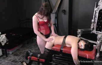 SUB GIRL BOUND, GAGGED AND FUCKED HARD BY THE MISTRESS - Vivienne l'Amour, Jasmine