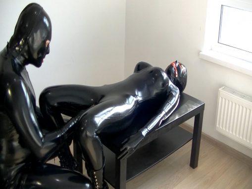 Encased orgasm – Xozt latex studio