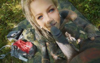 Forest Fuck - Outdoor Rough Pussy Sex 1080p - Anuskatzz