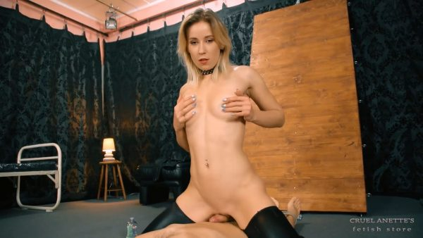Stops before come 1080p – Cruel Anettes Fetish Store – Mistress Anette