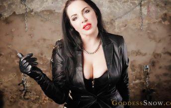 Leather Experiment 1080p - Goddess Alexandra Snow
