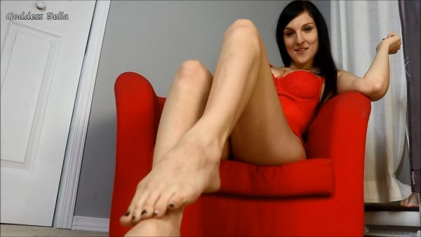 Foot Loser Orgasm Denial 1080p – Goddess Bella