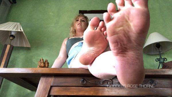 Dedicate Yourself To My Feet 1080p – Goddess Rose Thorne