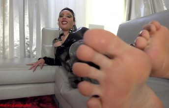 My feet never lose, your cock will - Mistress Ezada Sinn
