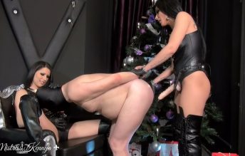 Every day is Christmas for My bitch 1080p - Mistress Kennya, Mistress Lexa