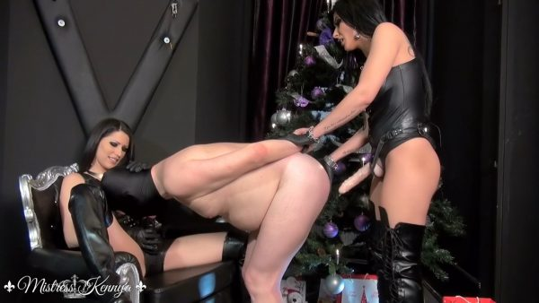 Every day is Christmas for My bitch 1080p – Mistress Kennya, Mistress Lexa