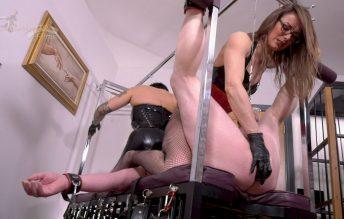 Training Anal Slut Parts 2 1080p - Mistress Krush, Miss Nera Skye