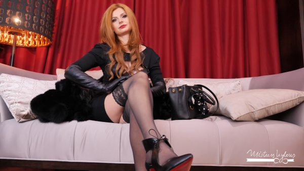Spoil your Goddess in fur 1080p – Mistress Nylons