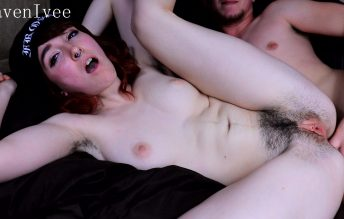 Hairy Teen Rough ANAL 1080p - Raven Lvee