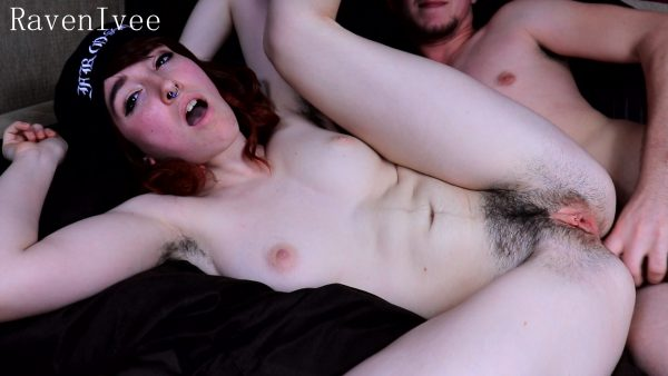 Hairy Teen Rough ANAL 1080p – Raven Lvee