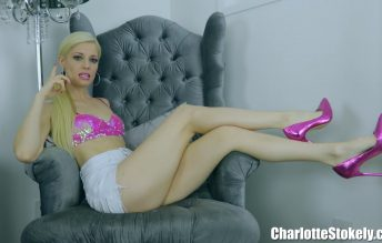 Giggling At The Gooner 1080p - Charlotte Stokely