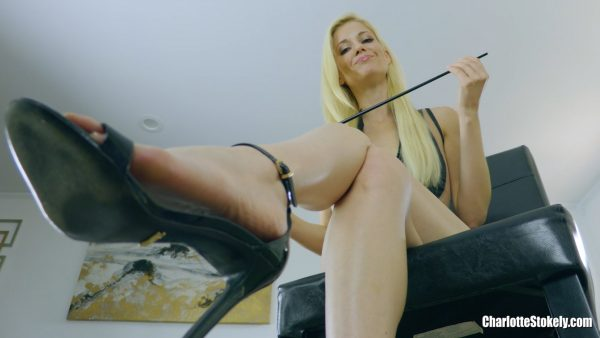 I'm Wrecking Your Asshole 1080p – Charlotte Stokely