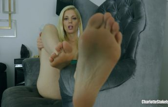 Taking Your Foot Fetish Further 1080p - Charlotte Stokely