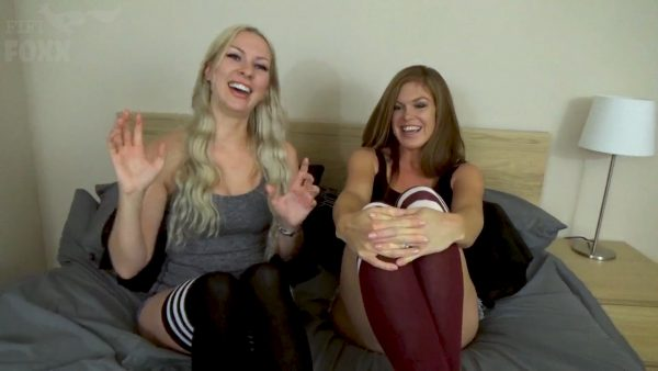 Mom & Aunt's Competition Who Can Make Him Cum First – Mom & Aunt Play Game with Son, POV – HD 1080p – Fifi Foxx Fantasies – Sydney Paige & Ivy Secret