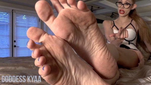 Filthy Femdom Feet 1080p – Goddess Kyaa
