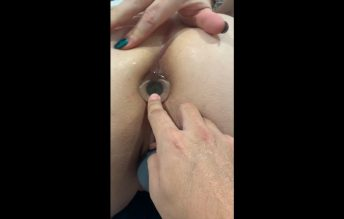 Attempted fisting and a glass butt plug 720p - Jenna Love - Jennahasredhair