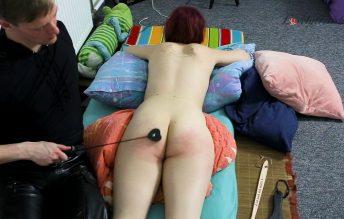 Clip 44Ri-e Rijas First Spanking - Harsh Ending - MIX 1080p - Lovely Fetish Spanking Bondage More