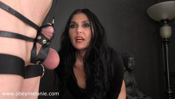 Please break my balls 1080p – Obey Melanie