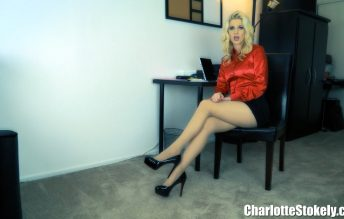Office Shoe Perv 1080p - Charlotte Stokely