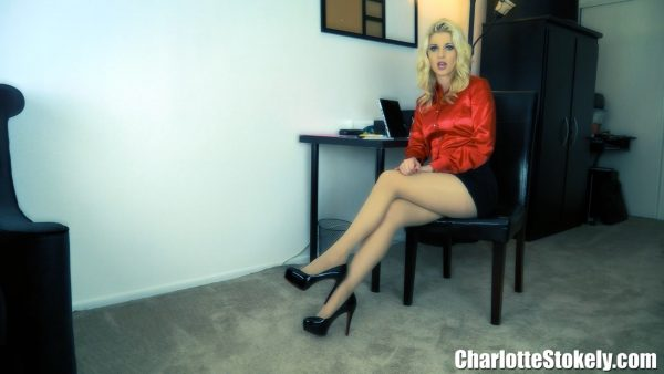 Office Shoe Perv 1080p – Charlotte Stokely
