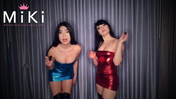 Shiny P0pperz Double Domination 1080p – Princess Miki, Raevyn Rose