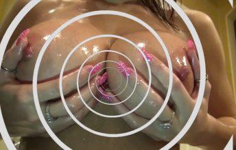 45 min. Hot & Oily Mesmerizing Body Worship 1080p - Countess Crystal Knight