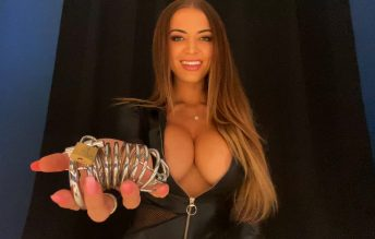 Long-term Chastity - Edging Tease 2160p - Countess Crystal Knight